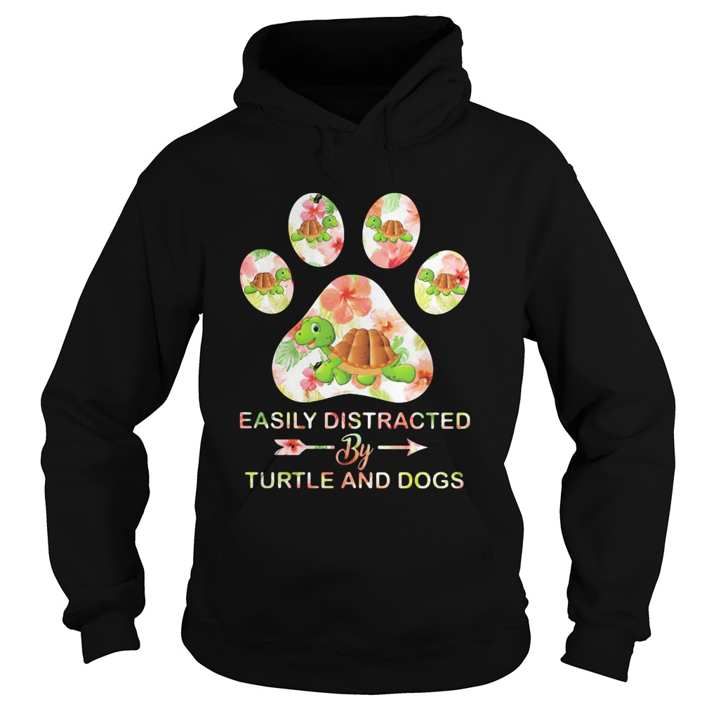 Flower easily distracted by sloths and dogs paw  Hoodie