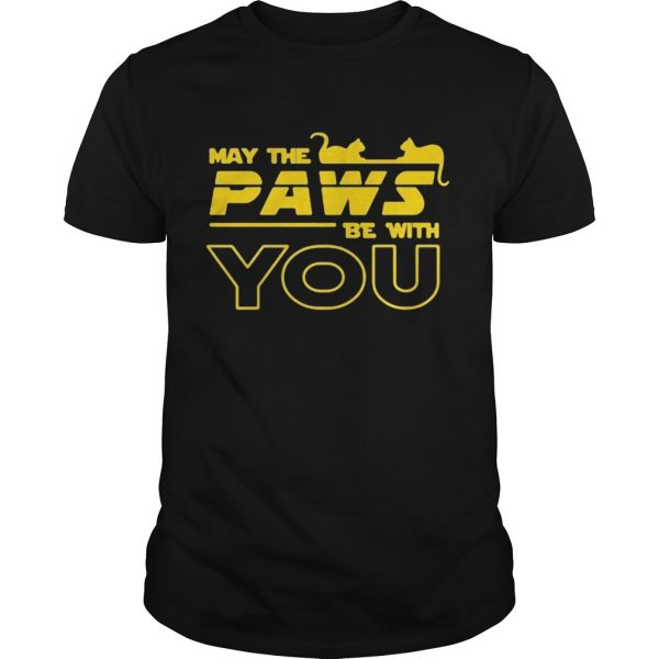 May The Paws Be With You shirt