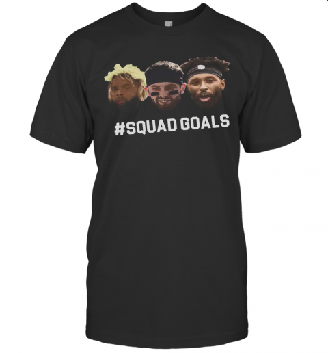 Mayfield Odell Jarvis Cleveland Football Squad Goals T-Shirt