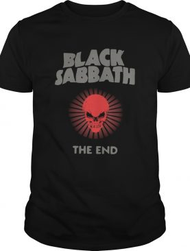 Black Sabbath The End shirt