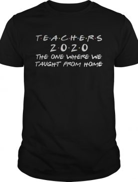 Virtual Teacher 2020 Quarantine Gift Funny Distance Learning shirt