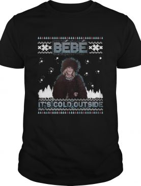 Bebe Its Cold Outside Ugly Christmas Sweater shirt