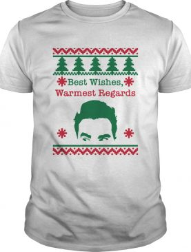 Best Wishes Warmest Regards David Rose Funny Rose Family Schitts Creek Ugly Christmas shirt