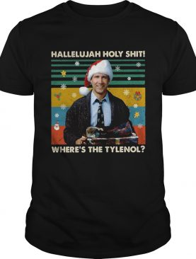 Griswold Hallelujah holy shit wheres the Tylenol vintage shirt