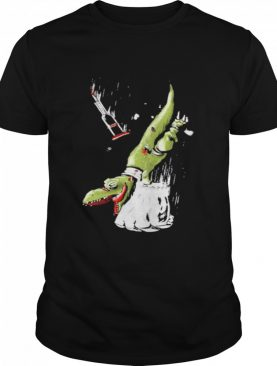 How ridiculous merch falling rexy with hulks fist shirt