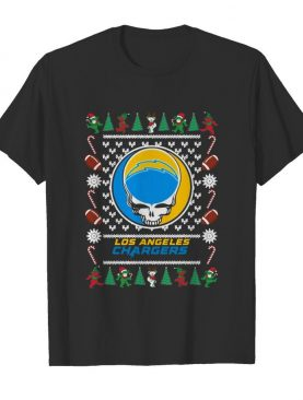Los Angeles Chargers Grateful Dead Ugly Christmas shirt
