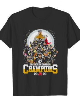 Signature Player Team Steelers Football Afc North Division Champion 2020 shirt