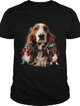 Basset Hounds Smoke Happy 2021 shirt