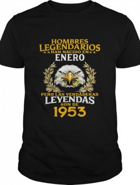 Mens 68th Birthday for Him Cumpleaños 68 Enero shirt
